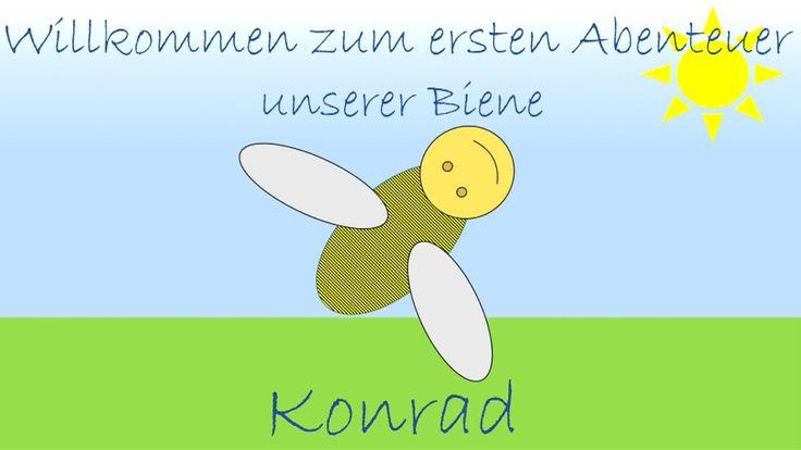 Farben lernen mit der Biene Konrad - Kinder lernen Farben