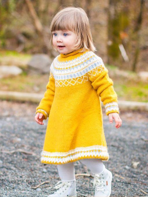 Gudrunkjole - Knitting Inna