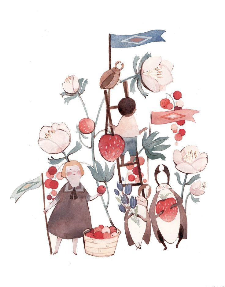 Kelsey Garrity-Riley Illustration: Good-bye to summer.