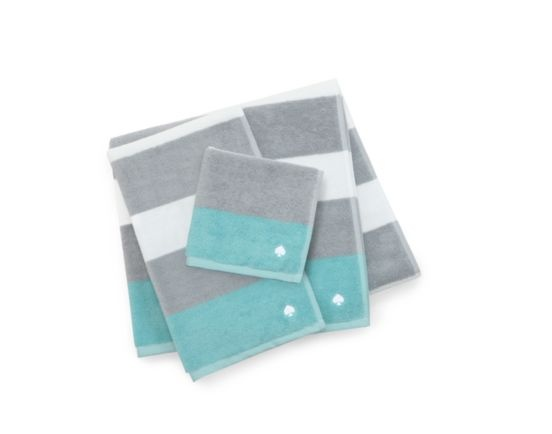 kate spade | ivy stripe bath towel: Stripes Bath, Bathroom Stripes, Bathroom Colors, Ivy Stripes, Bath Towels, Hands Towels, Spade Towels, Kate Spade, Hand Towels