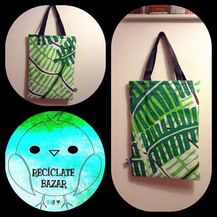 Amigos,  les dejo una muestra de los nuevos productos de Reciclate Bazar,  #totebag de #lona,  mas especificaciones y diseños en el fanpage #reciclalovers #ecofriendly #handmade
