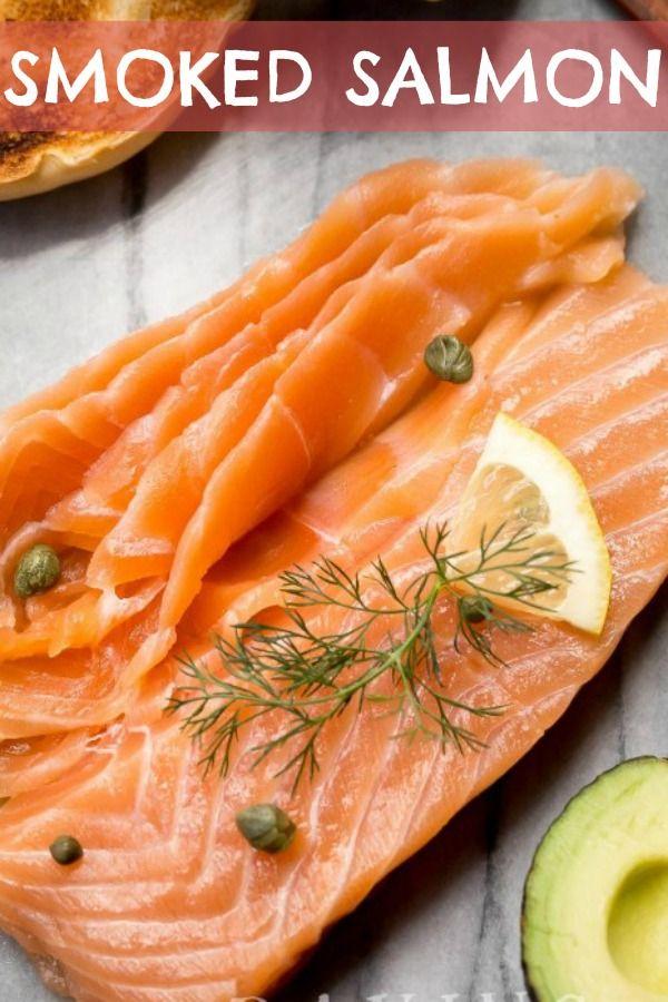 Cold Smoked Salmon Recipe Smoked Salmon Recipes Salmon Recipes Smoked Salmon