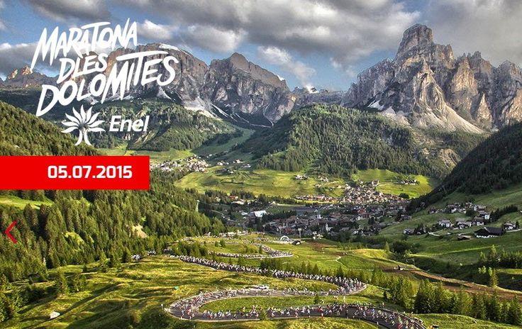 Maratona dles Dolomites,  domenica 5 luglio 2015