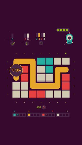 twofold inc. (iOS) • ⭐️⭐️⭐️⭐️ • A very fun, slightly addictive puzzle game. The sessions are generally pretty short (or maybe I'm just bad at it) so it makes for a nice filler game.