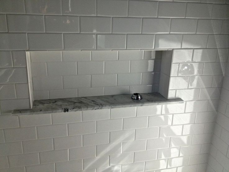 Large Recessed Shower Box Recessed Shelves Bathroom