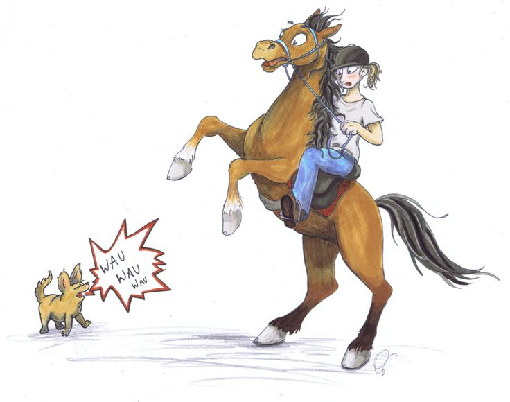 Problempferdchen - juls comics