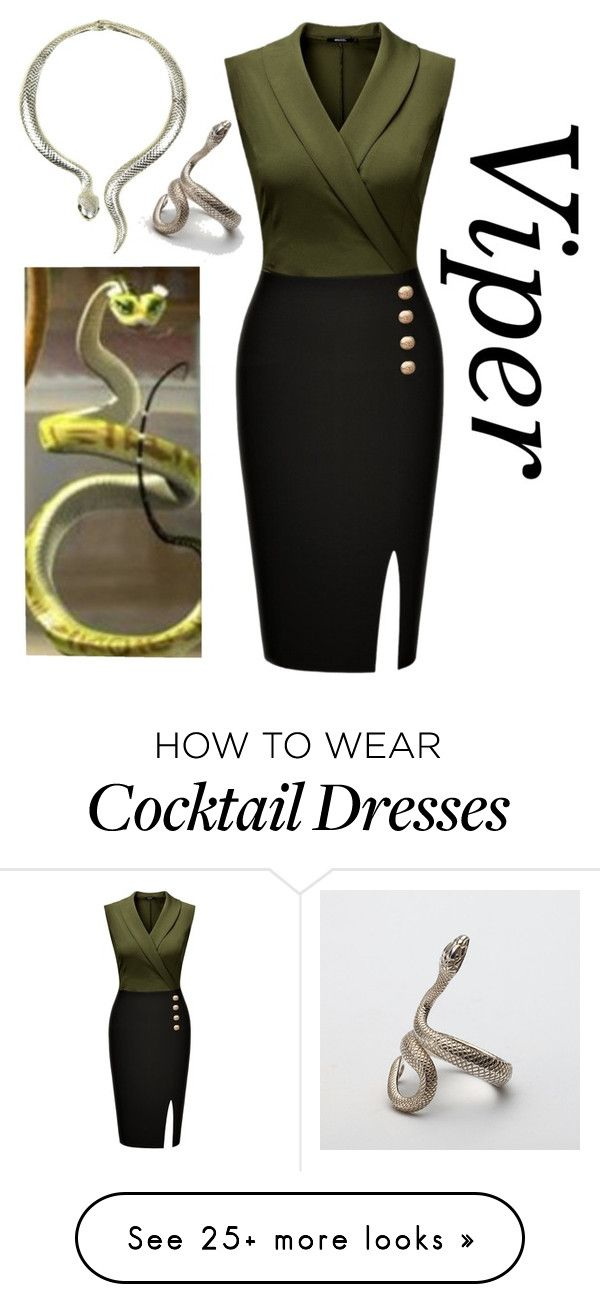 """""""Viper"""" by berryco on Polyvore featuring Panda and Eye Candy"""