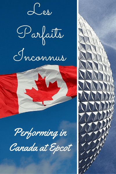 Les Parfaits Inconnus Performing in Canada at Epcot