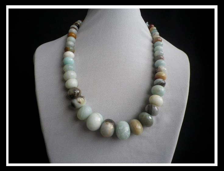 Beautiful Handmade Gemstone Jewellery  - Amazonite  http://www.facebook.com/ZadiaDesigns