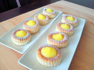 Vol Au Vent with Lemon Cream