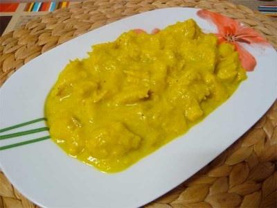 Pollo al curry con Thermomix