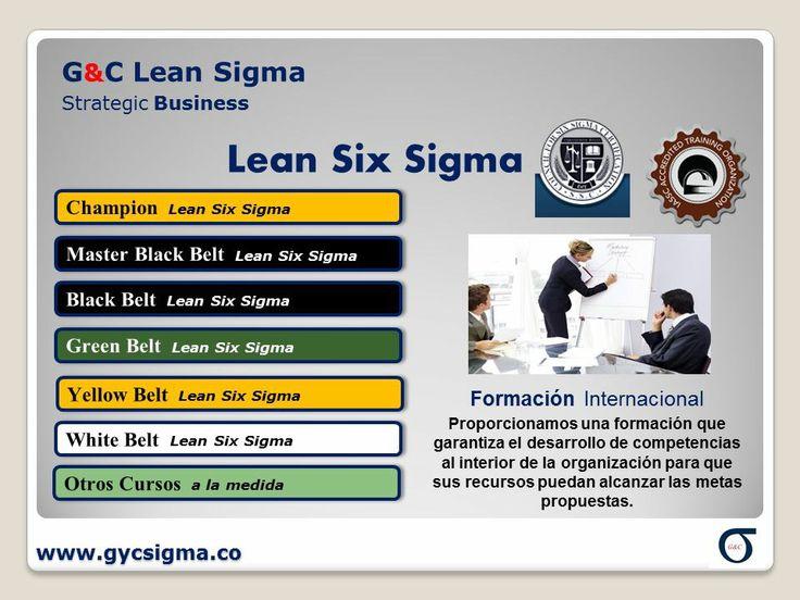 Linea Formación G&C Lean Sigma