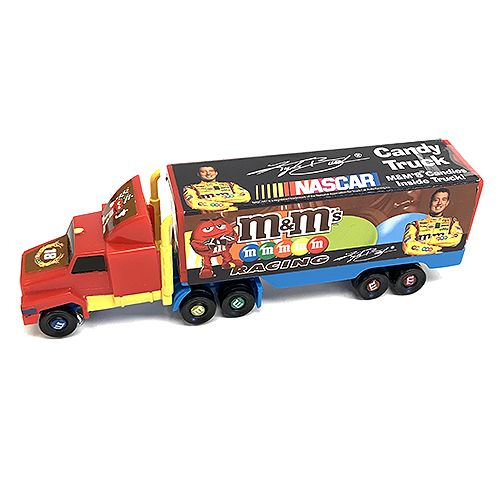 M&M's Kyle Bush NASCAR Racing Truck Candy Toy