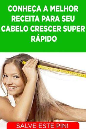 4d0cf0e7f 7 remédios caseiros para fazer o cabelo crescer mais rápido. Os fios de  cabelo crescem