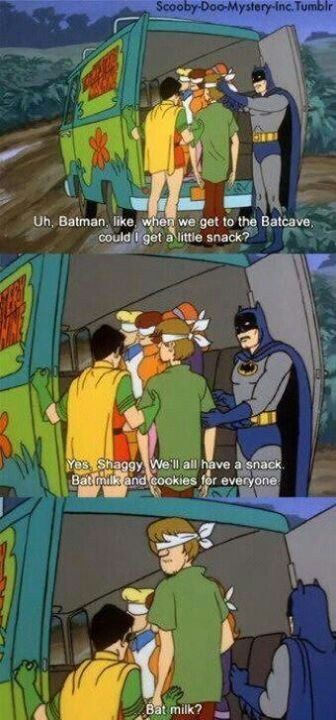 scooby doo quotes | Scooby Doo meets Batman & Robin. | Hilarious Photos and Quotes