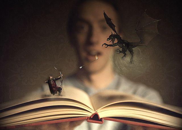 Να τι γίνεται όταν διαβάζετε βιβλία...