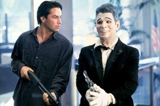 Keanu Reeves & Patrick Swayze, Point Break (1991).