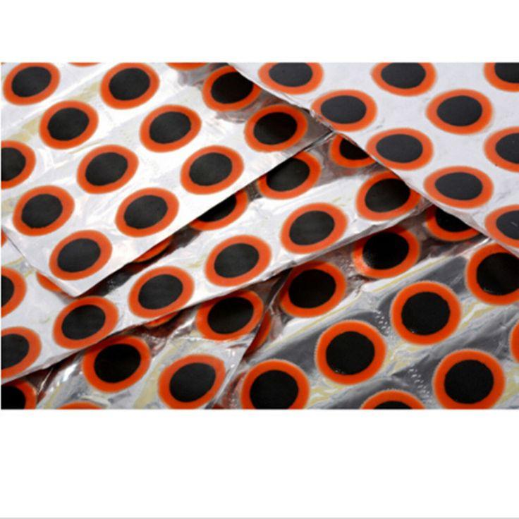 48x25mm Ronda de Alta Calidad de La Bicicleta del Neumático de la Bici Parche de goma Pieza herramientas kits de Reparación de Ciclo Del Neumático Pinchazo reparación