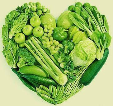 Green veggies via Tumblr