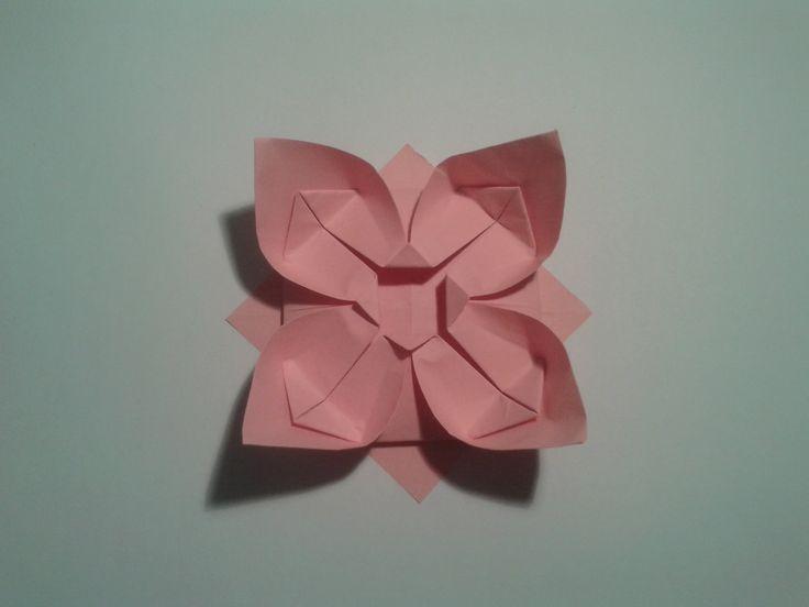Facebook: https://www.facebook.com/profile.php?id=100009289517266 Twitter: https://twitter.com/shinyorigami Easy origami flower -----------------------------...