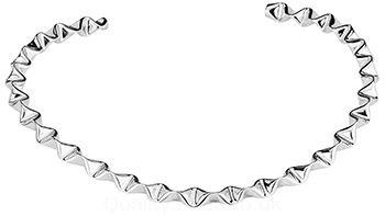 Tianguis Jackson Silver Concertina Collar