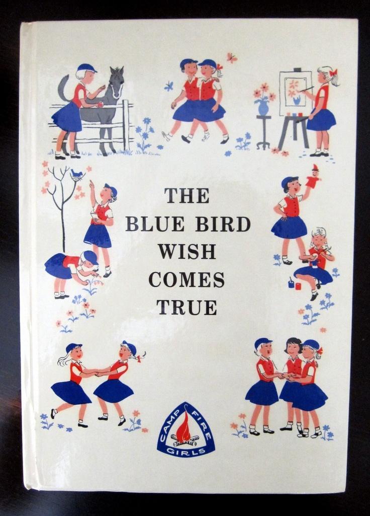 Bluebirds become Campfire Girls