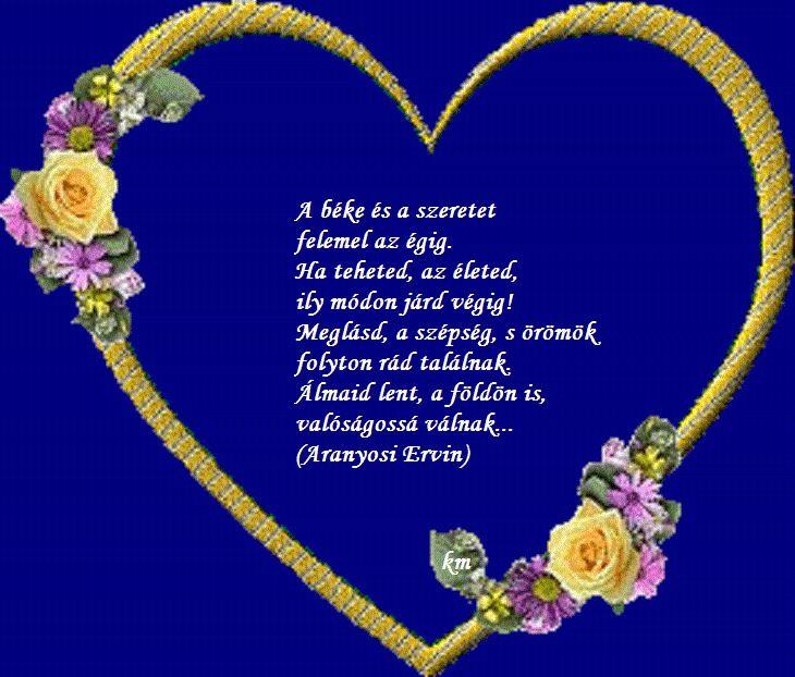 aranyosi ervin a szeretetről