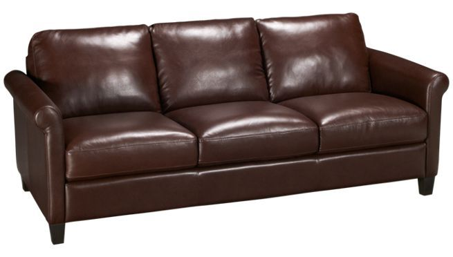 Natuzzi editions sock arm leather sofa jordan 39 s for Affordable furniture 290