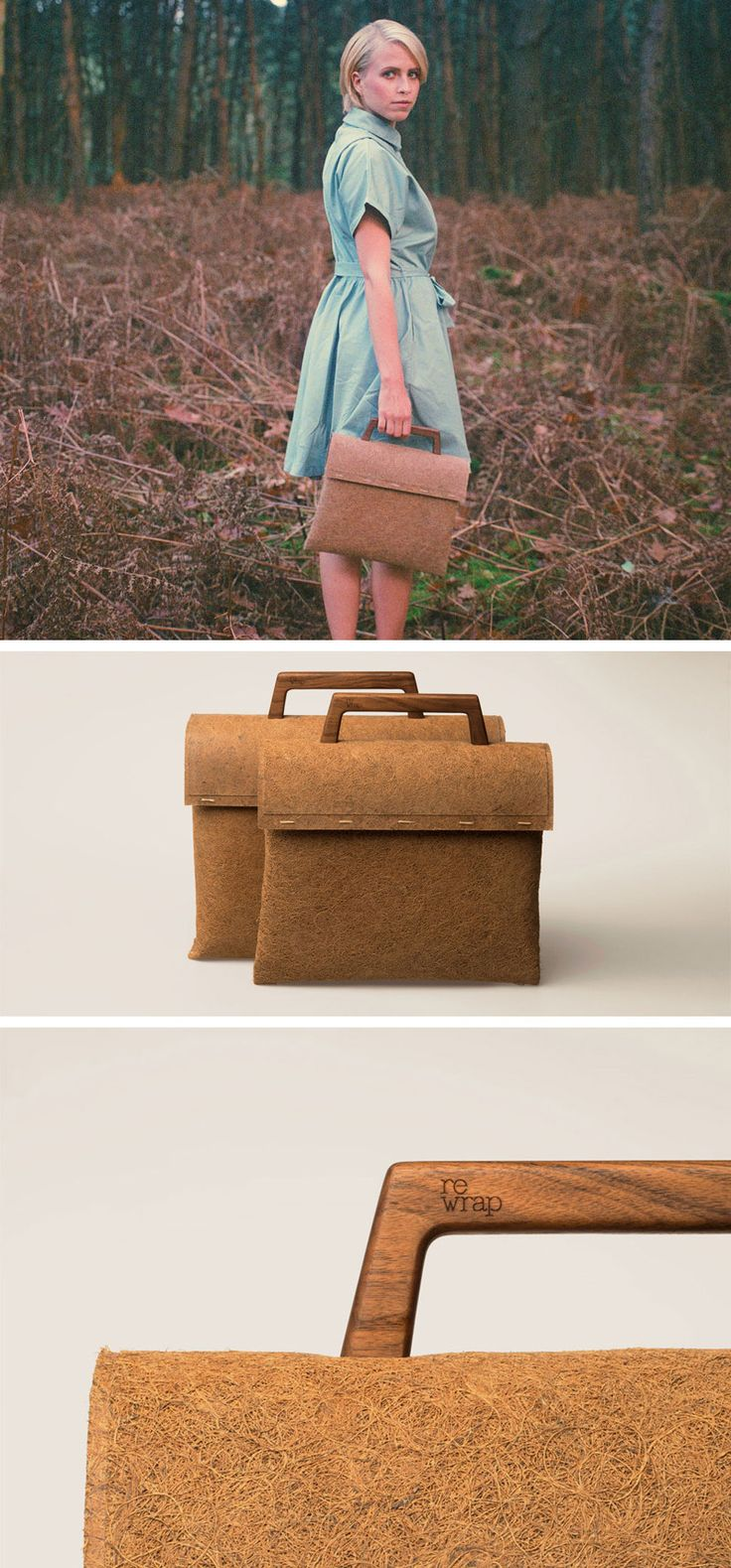 Dutch brand reWrap, have designed the Tree Bag, which is made using fully biodegradable materials.