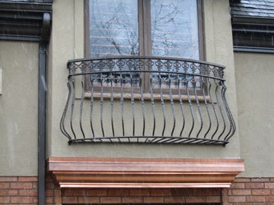 Custom Built Wrought Iron Steel Balconies, Juliette Balconies and Metal Window Guards for modern security solutions for sale - Babin Ironworks your custom balcony builder. Shop with Babin Ironworks and purchase your balcony from the masters.