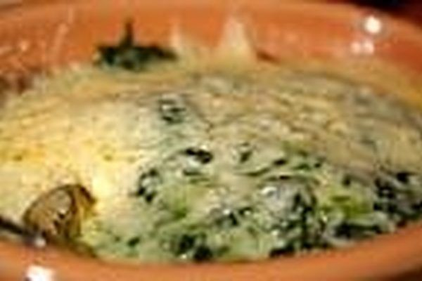 Anyone who has ever visited AppleBee's falls in love with their mouth watering, delicous Spinach Artichoke dip. Hot, creamy, cheesey- Oh so good. Well I have a recipe to make it at home. I make mass quanities, it freezes very well. It is always a hit at any function we hold. If you can not resist AppleBee's Spinach Artichoke Dip, but can not afford...