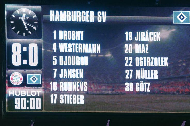 Bayern München vs. HSV