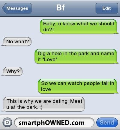 Digging holes and naming them. Gaffer - - Autocorrect Fails and Funny Text Messages - SmartphOWNED