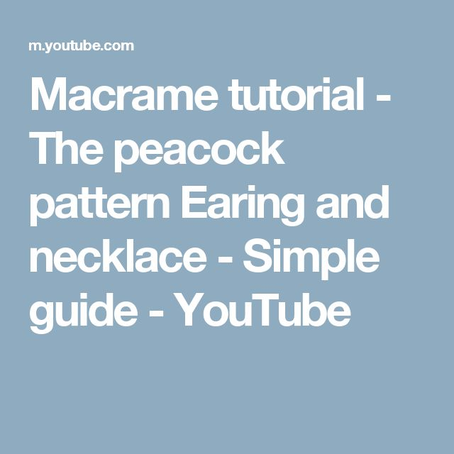 free printable macrame patterns for necklace pdf