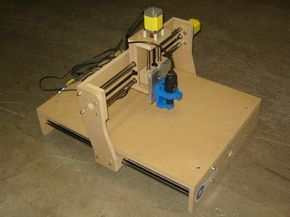 Our project is to build an affordable desktop CNC machine that can be used to mill, cut, route and engrave common materials.