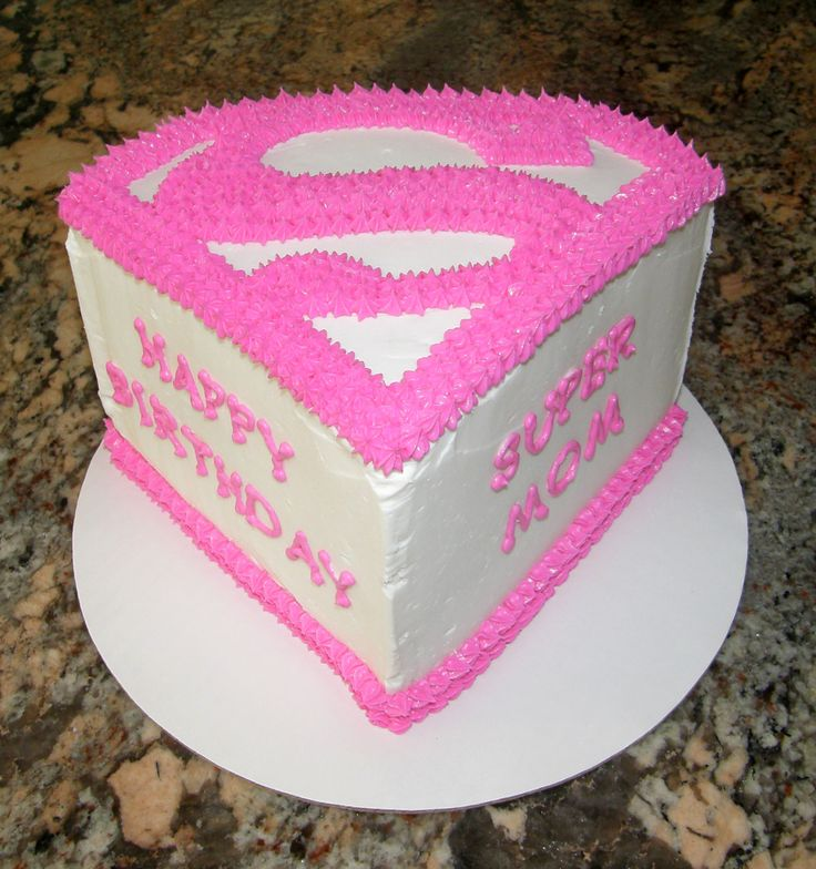 ... Mom cake  Cakes and desserts  Pinterest  Super mom, Cakes and Mom