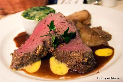 If you sail aboard the Carnival Elation, GET THIS:  it's the chateaubriand, and it's so marvelously soft you can cut it with a spoon. Dining aboard the Carnival Elation on Tie Dye Travels with Kat Robinson: http://www.tiedyetravels.com/2013/11/carnival-elation-dining.html #carnivalelation