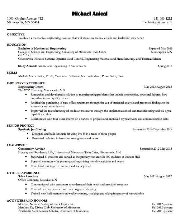 Entry Level Mechanical Engineering Resume Adorable 53 Best Mechanical Engineering Images On Pinterest  Mechanical .