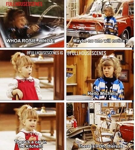 I could watch Full House alllll day. Seriously! I could. One of the best shows ever!