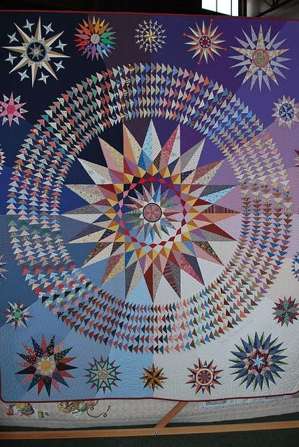Nautical Stars    By Judy Mathieson, 1986.