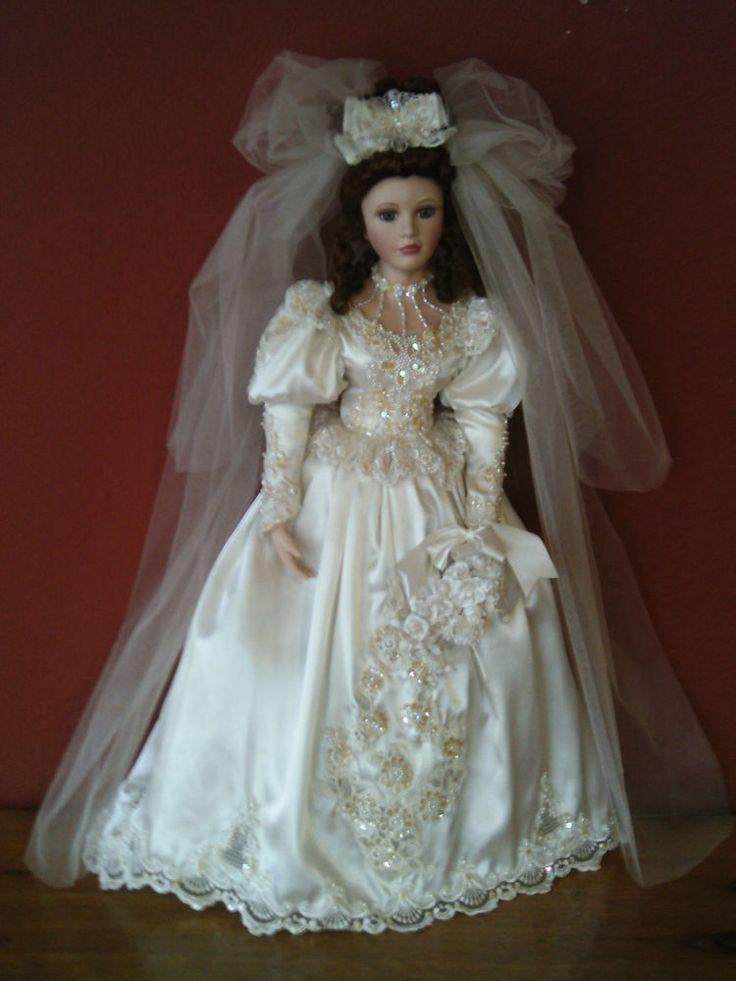 Porcelain Wedding Dolls 120 best Porcelain Bride Dolls images on