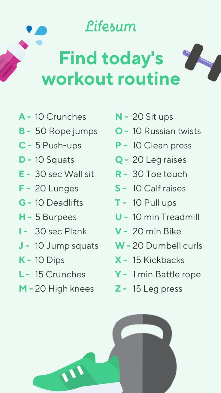 Find Today S Workout Routine In 2021 Spell Your Name Workout Workout Names Spell Your Name