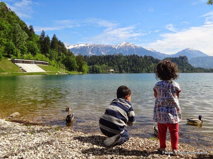 Felipe, o pequeno viajante: Camping Bled: hospedagem 5 estrelas num cenário de conto de fadas