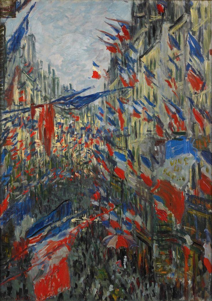 Claude Monet, Rue Saint-Denis, fête du 30 juin 1878