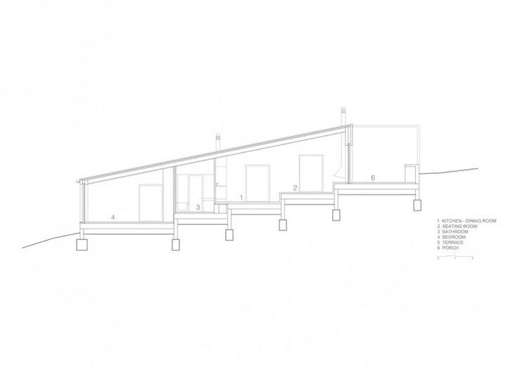 Plan maison sur un terrain en pente archi models and for Plan maison en pente