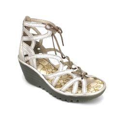 Fly London Yuke Sandal Silver