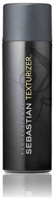 TEXTURIZER  FLEXIBLE, BODYFYING LIQUID GEL  Superpower get-ready-go for hairspray. Protein liquigel that builds a light and buoyant foundation for shape with a soft hair hold.  USE IT  Rub through damp hair as a base for the shape. Rub into dry hair for texture. Works on all hair types.
