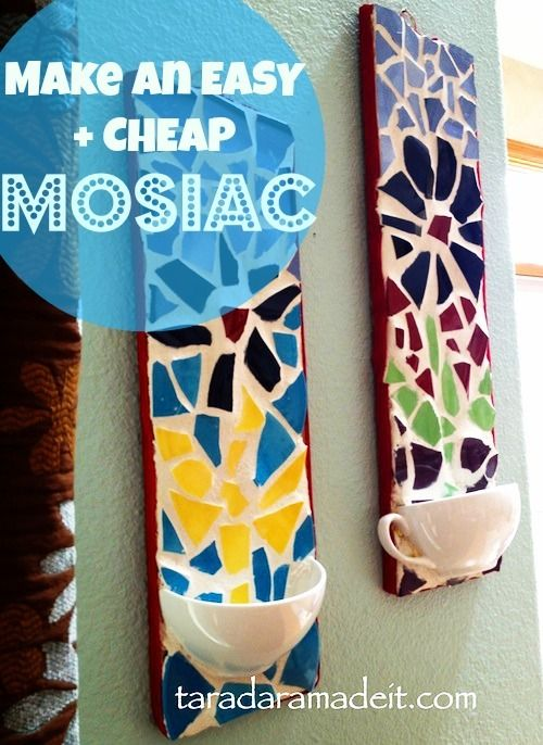 #diy How to make a mosaic. Step by step tutorial on how to do a mosaic project, big or small.
