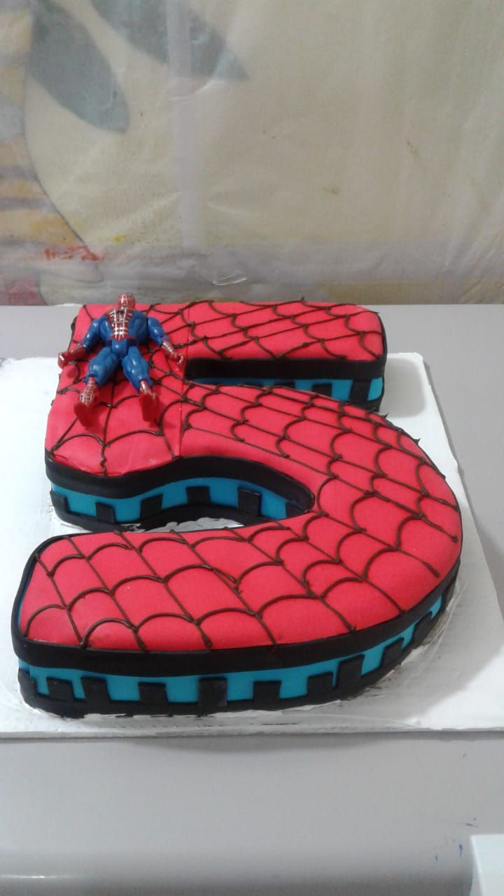 Spiderman 5 Order Cakes Online Cake Shop Near Me