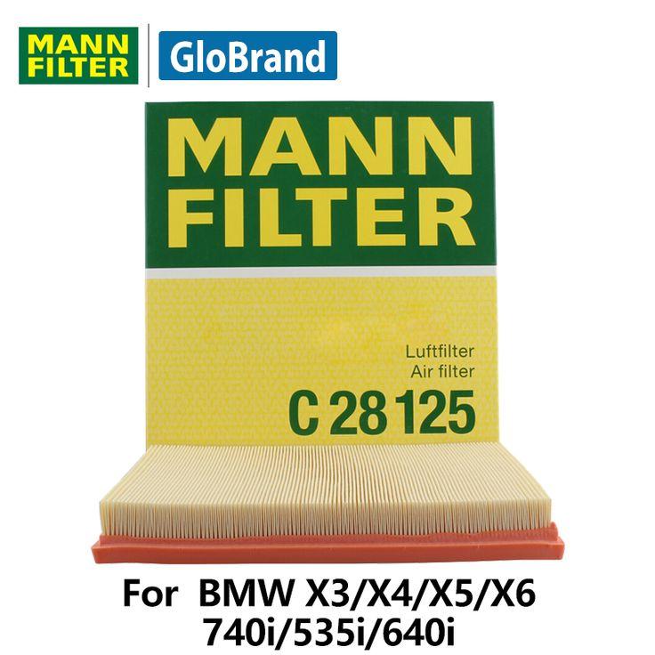 MANNFILTER  car air filter   C28125   for  BMW X3/X4/X5/X6/740i/535i/640i auto parts #Affiliate